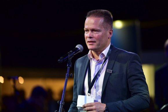 Organizatorių nuotr./ABB vykdomasis direktorius Lietuvai ir Baltijos šalims Jukka Patrikainenas