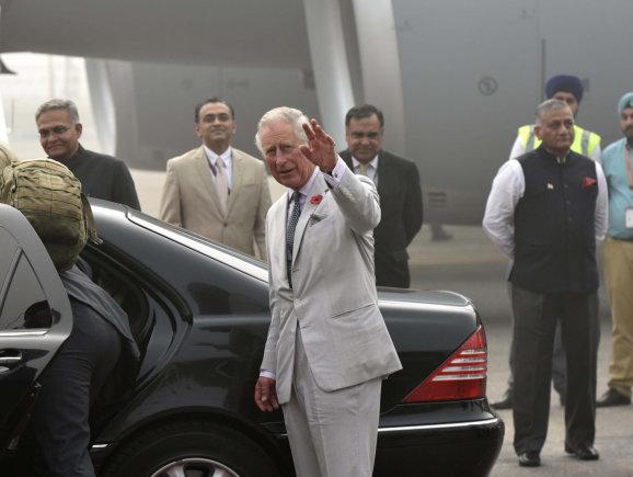 """""""Scanpix""""/""""Sipa USA"""" nuotr./Britų karališkosios šeimos vizitas Indijoje"""