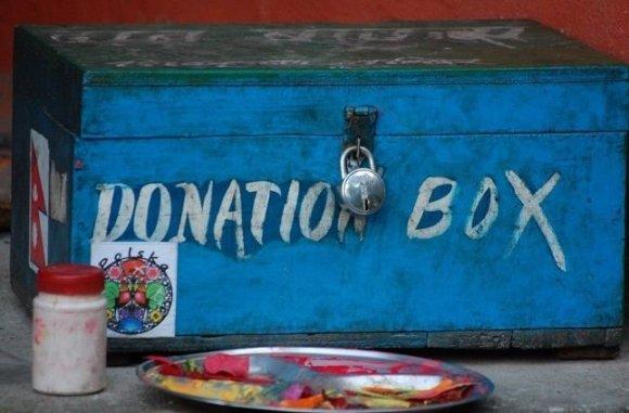 E.Digrytės nuotr./Viešasis tualetas Nepale už auką