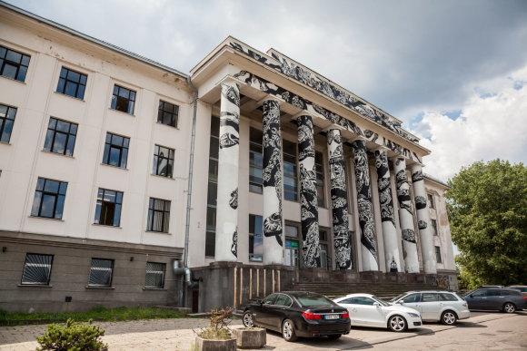 Sauliaus Žiūros nuotr./Profsąjungų rūmai
