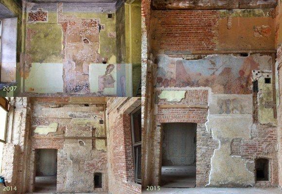 Daumanto Pilipavičiaus nuotr./Sieninė tapyba Sapiegų rūmuose