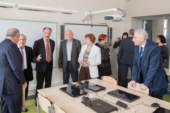 Vilniaus m. sav. nuotr./Šolomo Aleichemo gimnazija