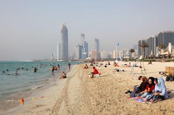 123rf.com nuotr./Abu Dabio paplūdimys