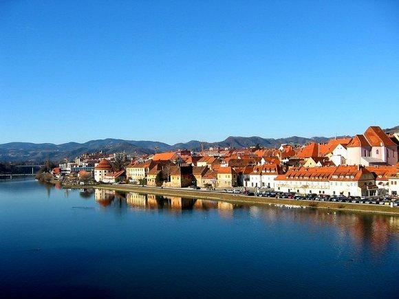 Wikimedia.org nuotr./Mariboro miestas Slovėnijoje