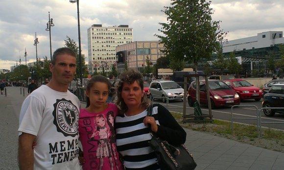 Asmeninio albumo nuotr./Gutiera su šeima
