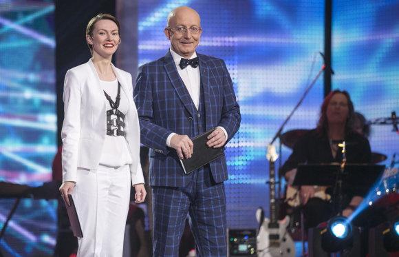 Luko Balandžio/15min.lt nuotr./Beata Tiškevič-Hasanova ir Arūnas Valinskas