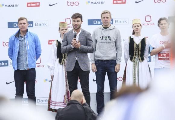 """Luko Balandžio/15min.lt nuotr./""""Danske Bank Vilniaus maratonas"""""""
