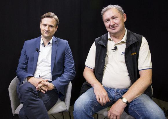 Luko Balandžio / 15min nuotr./Artūras Pakėnas ir Andrius Jaržemskis
