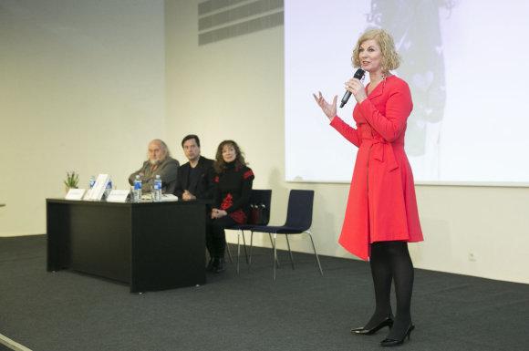 Luko Balandžio/Žmonės.lt nuotr./Nijolės Narmontaitės knygos pristatymas
