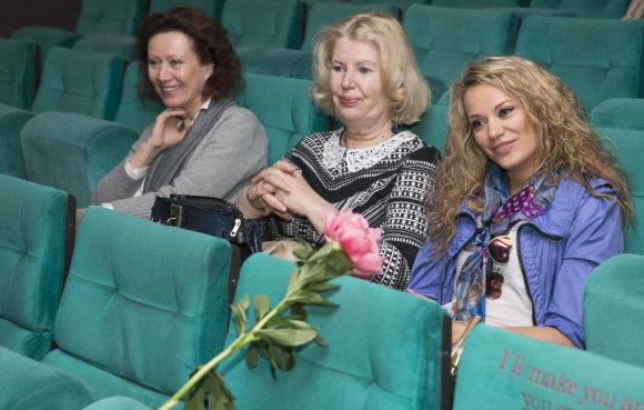 Luko Balandžio/15min.lt nuotr./Nelė Savičenko, Vaiva Mainelytė ir Monika Vaičiulytė