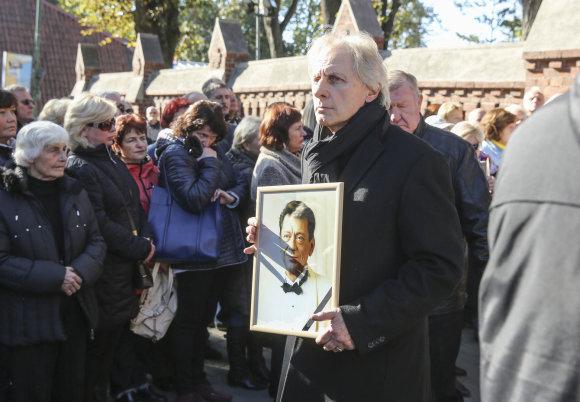 Luko Balandžio/15min.lt nuotr./Stasio Povilaičio laidotuvės