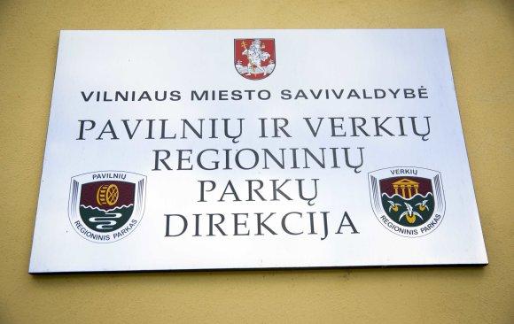 Luko Balandžio / 15min nuotr./Pavilnių ir Verkių regioninių parkų direkcija