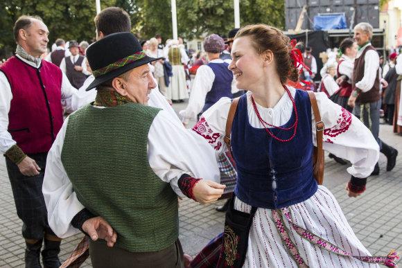 Luko Balandžio / 15min nuotr./Liaudies šokis
