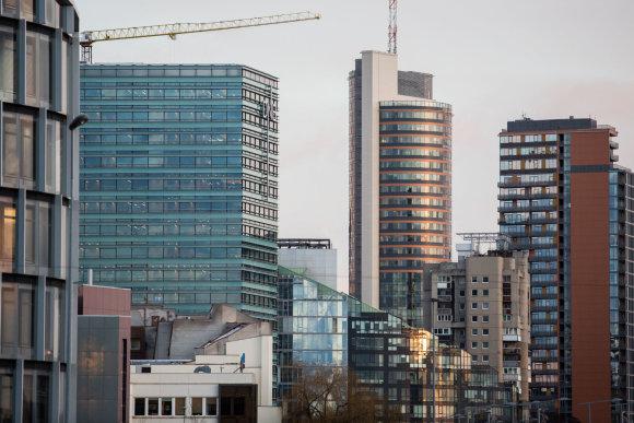 Luko Balandžio / 15min nuotr./Vilniaus dangoraižiai