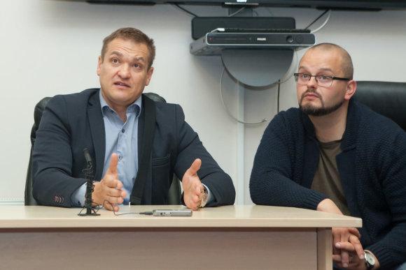15min nuotr./Vidaus reikalų ministras Eimutis Misiūnas lankėsi Vilniaus Greitosios medicinos pagalbos stotyje