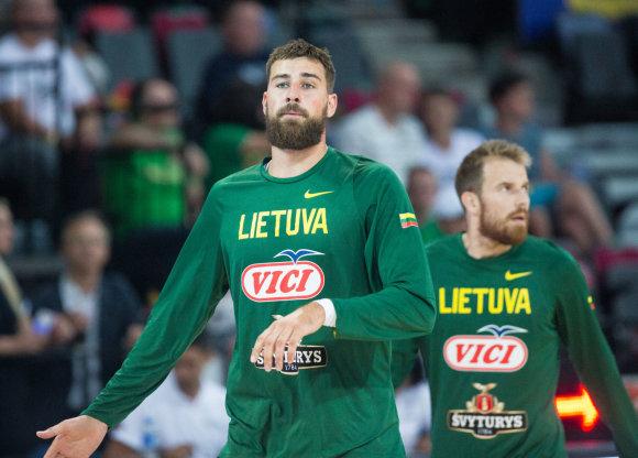 Luko Balandžio / 15min nuotr./Pirmosios rinktinės rungtynės: Lietuva – Lenkija