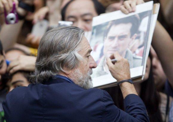 """""""Scanpix"""" nuotr./Robertas De Niro Toronto kino festivalyje"""