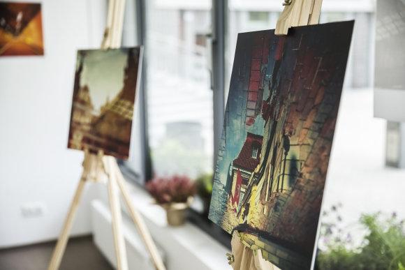 Viganto Ovadnevo/Žmonės.lt nuotr./Arvydo Anušausko parodos atidarymas
