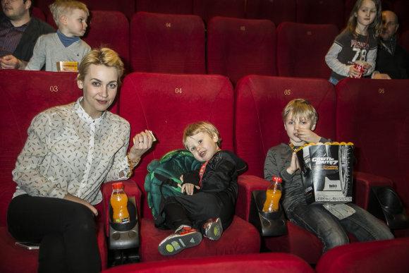 Viganto Ovadnevo/15min.lt nuotr./Eglė Kernagytė-Dambrauskė su vaikais