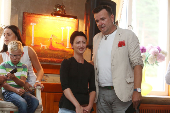 Teodoro Biliūno/Žmonės.lt nuotr./Raimonda Balsytė ir Dainius Martinaitis
