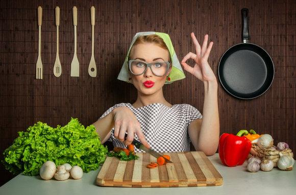 Fotolia nuotr./Virtuvėje
