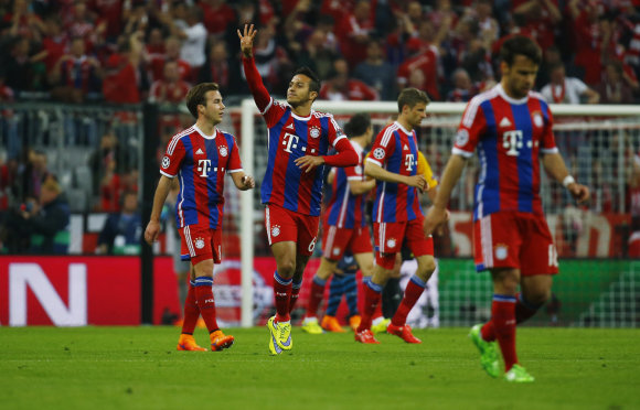 """Scanpix"" nuotr./""Bayern"" – ""Porto"""