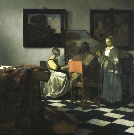 """Johanneso Vermeerio""""Koncertas"""""""