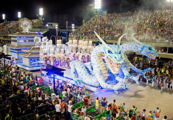 Shutterstock.com nuotr./Rio De Žaneiro karnavalas