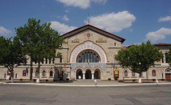 Asm.archyvo nuotr./Kišiniovo stotis. Moldova