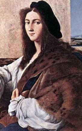 """Raphaelio """"Jaunuolio"""" portretas"""