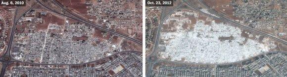 US Department of State, Humanitarian Information Unit, NextView License (DigitalGlobe) nuotr./Hama