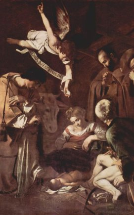 """Caravaggio """"Jėzaus gimimas"""""""
