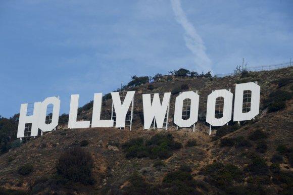 """""""Reuters""""/""""Scanpix"""" nuotr./Holivudo ženklas"""