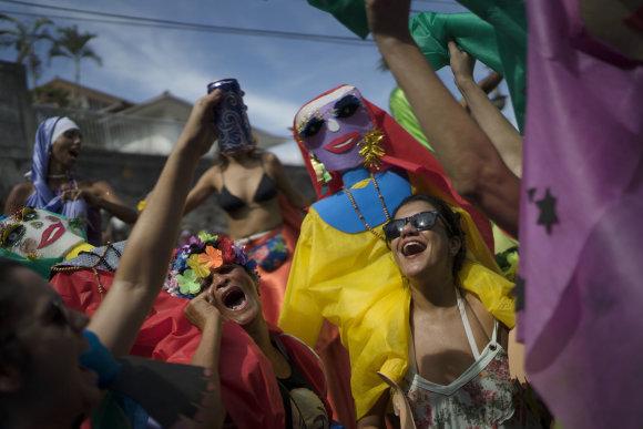 """""""Scanpix""""/AP nuotr./Prasideda Rio de Žaneiro karnavalas"""
