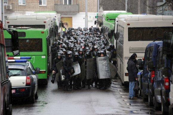 "AFP/""Scanpix"" nuotr./Protestas Baltarusijoje"