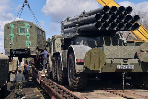 """AFP/""""Scanpix"""" nuotr./Ukrainos pajėgos"""