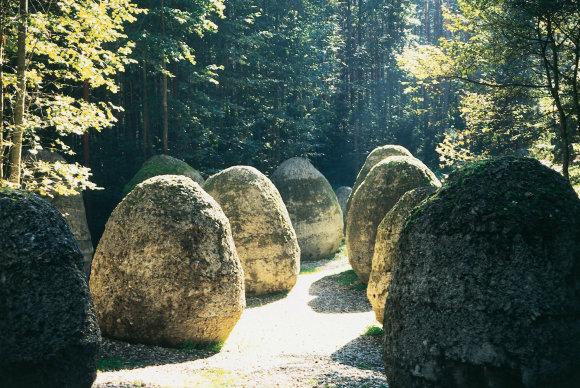 Europos parko nuotr./Magdalenos Abakanowicz sukurtas darbas Europos parke