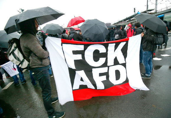 """Reuters""/""Scanpix"" nuotr./Protestas prieš ""Alternatyva Vokietijai"" (AfD)"
