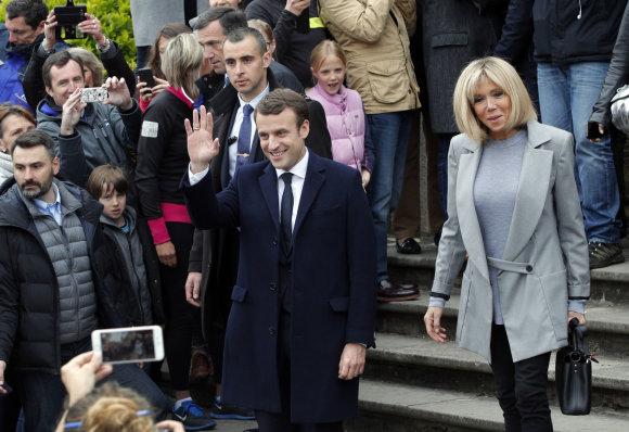 """AFP/""""Scanpix"""" nuotr./Prancūzijos prezidento rinkimai"""