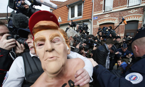 """Scanpix""/AP nuotr./FEMEN protestas"
