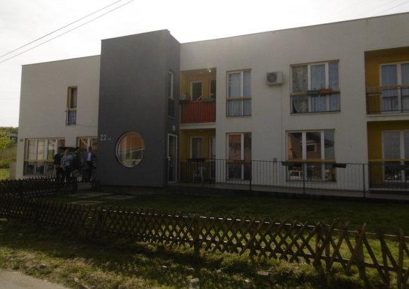 Eglės Digrytės nuotr./Romams pastatyti socialiniai būstai