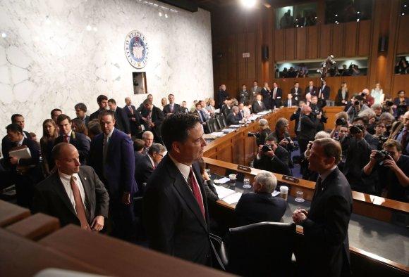 "AFP/""Scanpix"" nuotr./Jameso Comey liudijimas Kongrese"