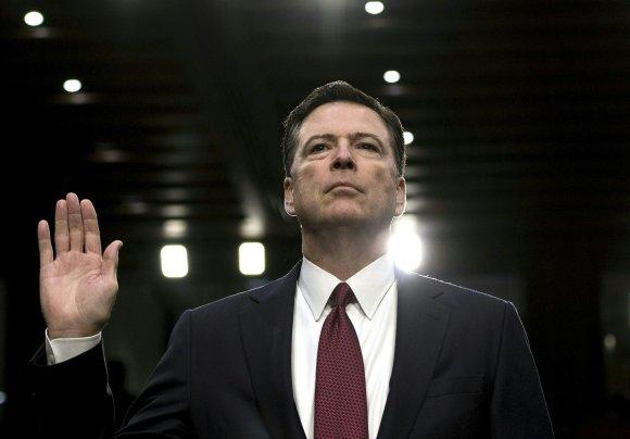 "AFP/""Scanpix"" nuotr./Jameso Comey liudijimas"