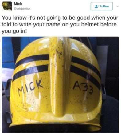 Ugniagesio žinutė