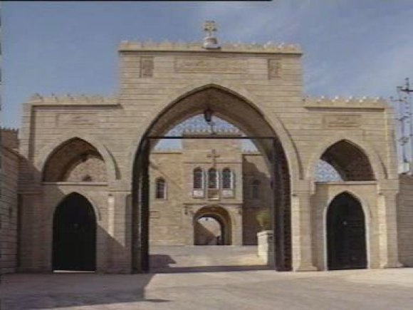 """""""Wikimedia Commons"""" nuotr./Mar Behnamo vienuolynas"""