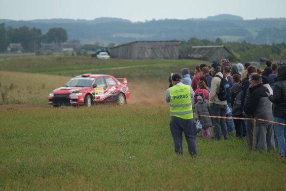 """Tomo Žekonio nuotr./""""DHL Rally Elektrėnai"""""""