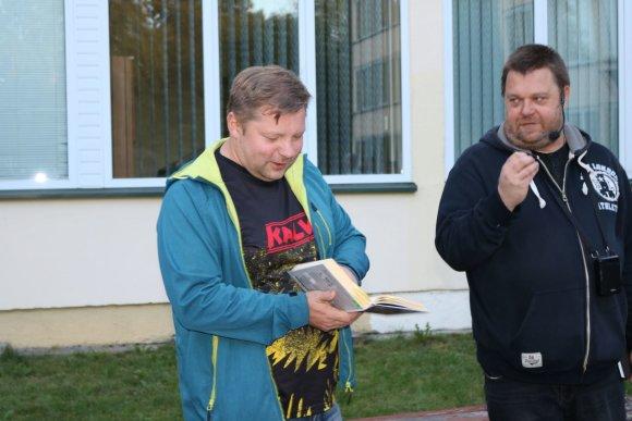 Šiaulių turizmo informacijos centro nuotr./Rimantas Kmita ir Aivaras Rusevičius