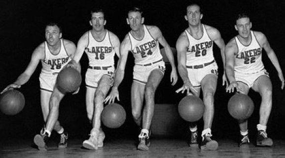 """Los Angeles Lakers"", 1950 m."