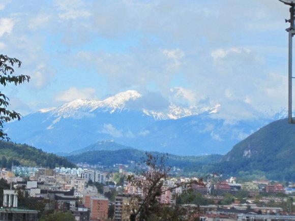 Pasvaikščiojimas po Liublianą ir vaizdai iš miesto karalių pilies