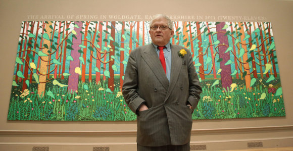 """Scanpix""/""PA Wire""/""Press Association Images"" nuotr./Davidas Hockney"
